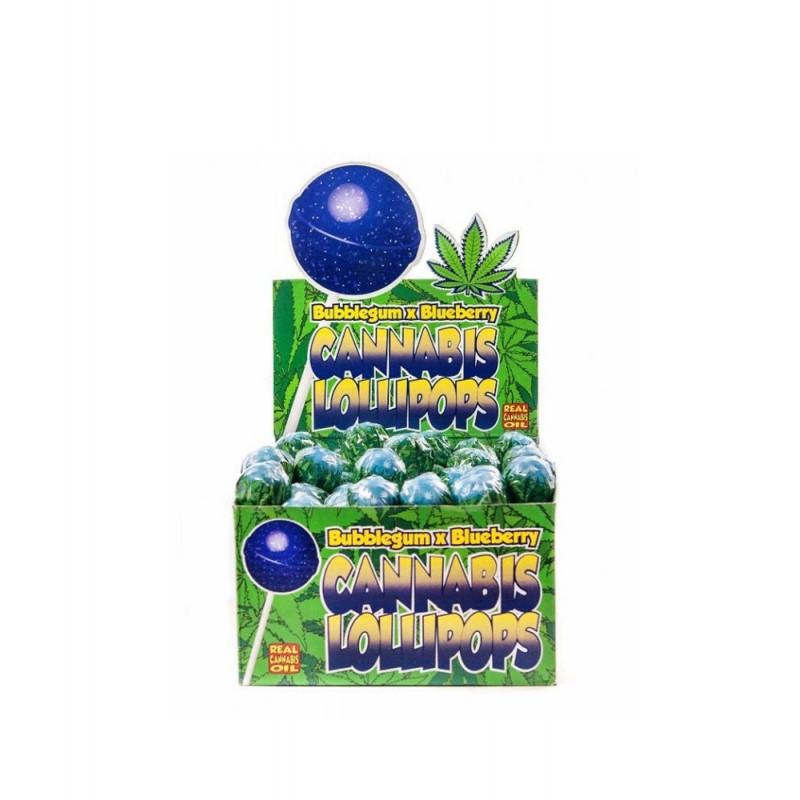 Lizak konopny Bubblegum x Blueberry Dr. Greenlove