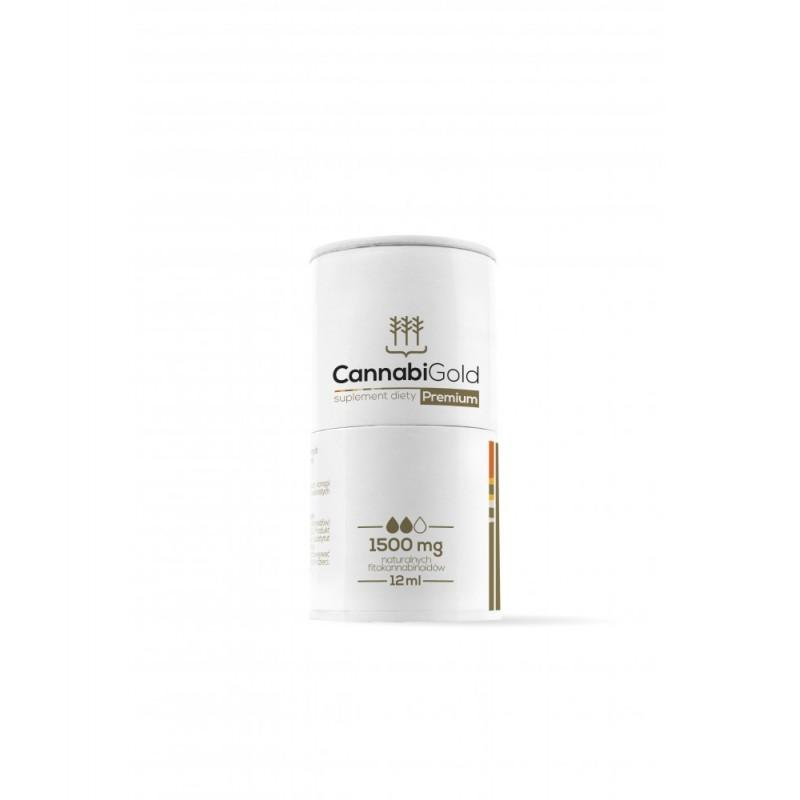 Olejek CBD Cannabigold Premium 1500mg Hempoland