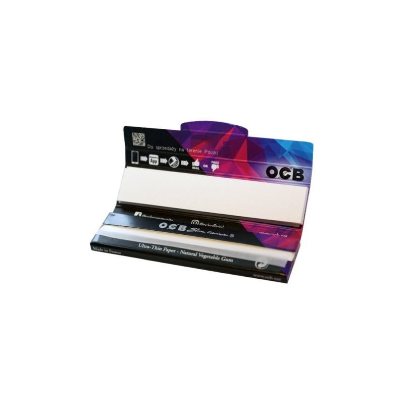 Bibułki OCB Slim King Size Premium Black + Filters