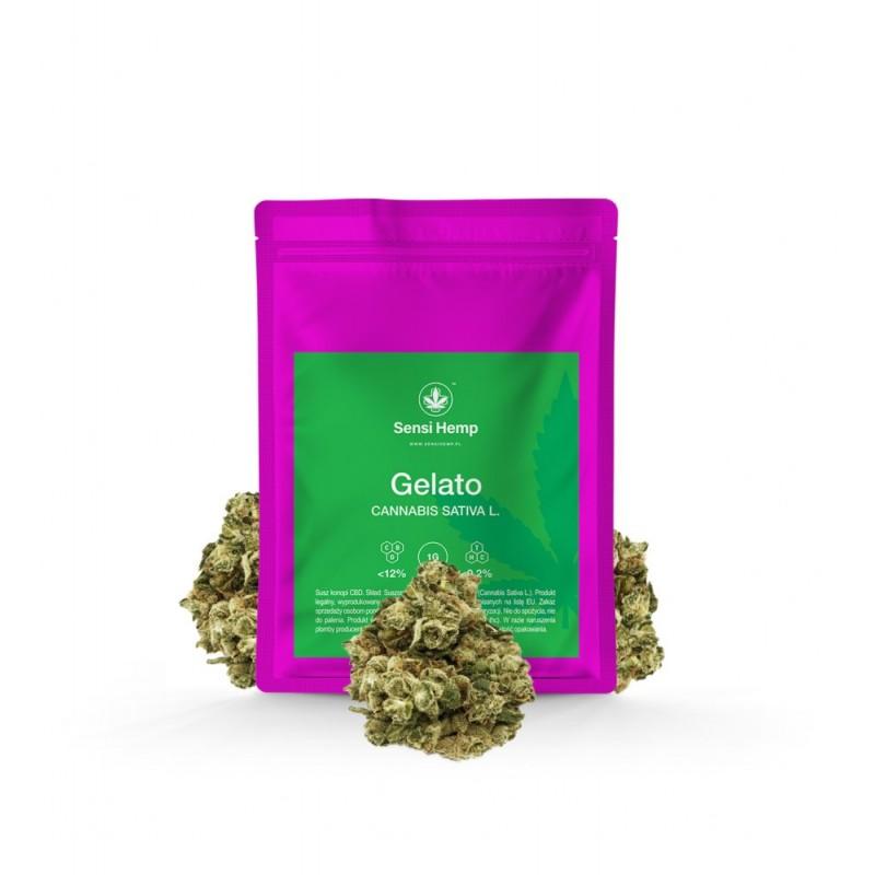Gelato - Susz CBD 12% Sensi Hemp