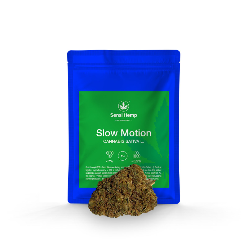 Slow Motion - Susz CBD 7% Sensi Hemp