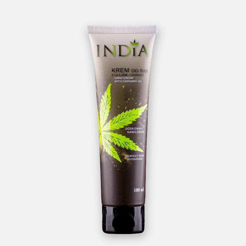KREM DO RĄK OCHRONNY Z OLEJEM KONOPNYM INDIA COSMETICS India cosmetics