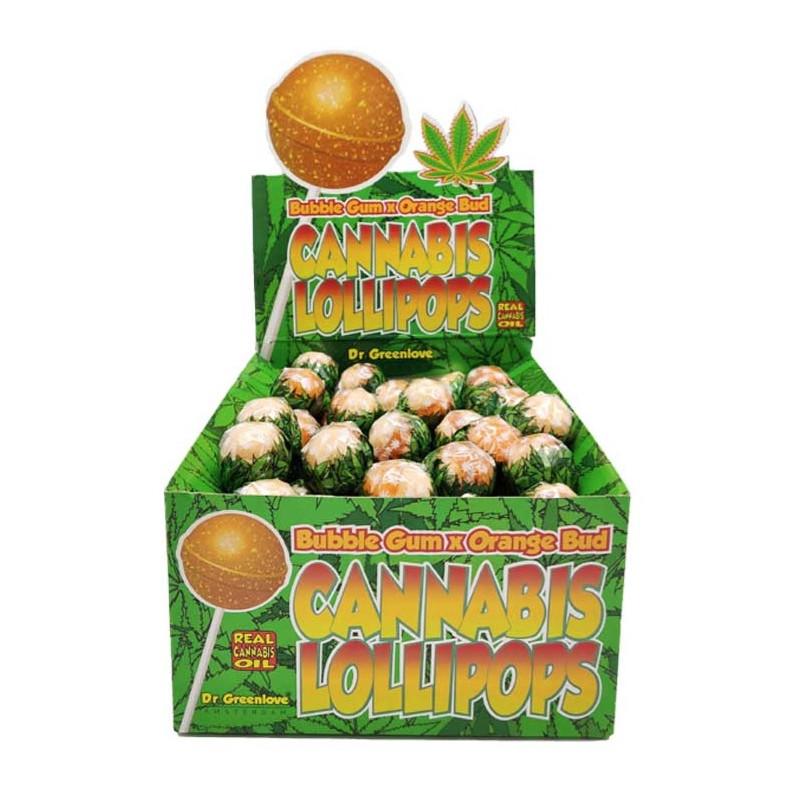 Lizak konopny Bubblegum x Orange Bud Dr. Greenlove