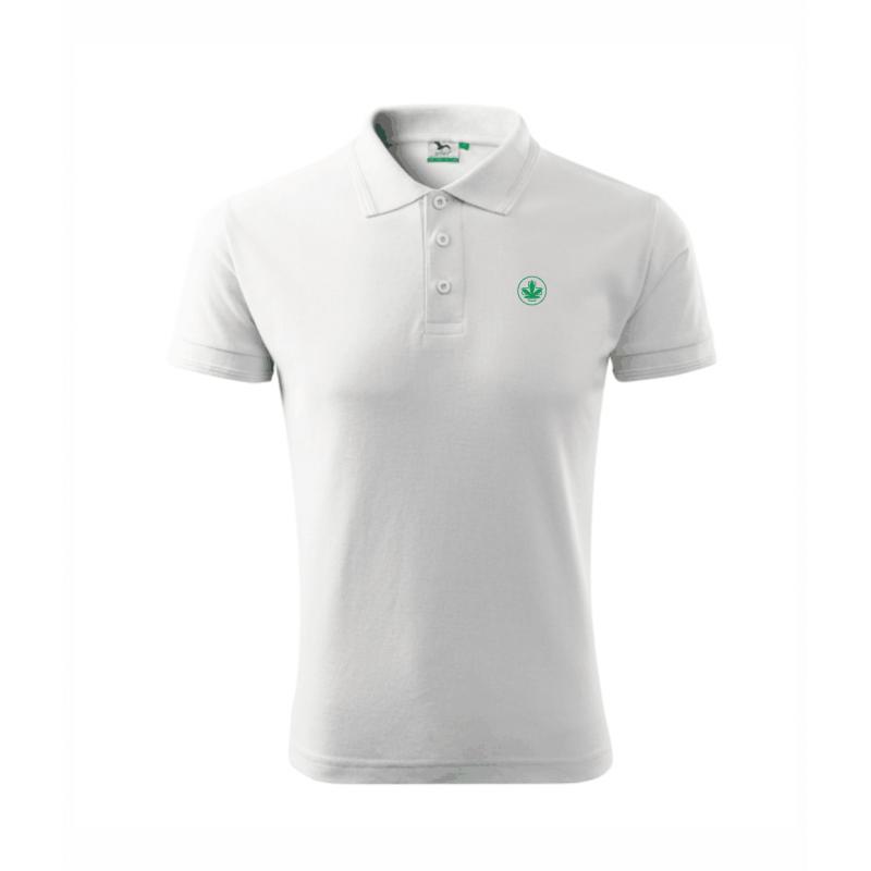 Koszulka Polo Biała Męska Sensi Hemp