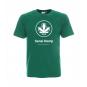 Koszulka Classic Logo Zielona Sensi Hemp