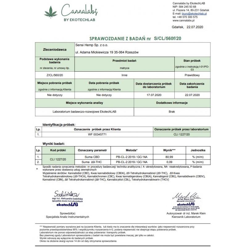 ASTEROID ICE MOONROCK 1G 82% CBD WeedFun