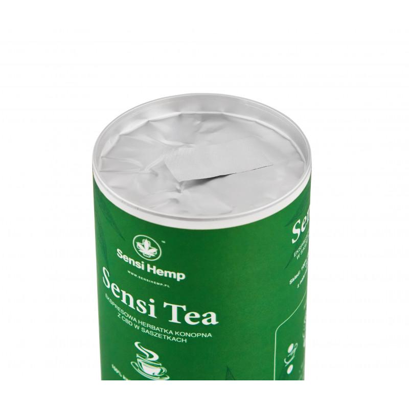 SENSI TEA Herbatka Konopna w saszetkach Sensi Hemp