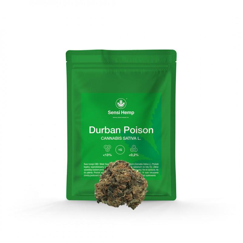 Durban Poison - Susz CBD 13% Sensi Hemp