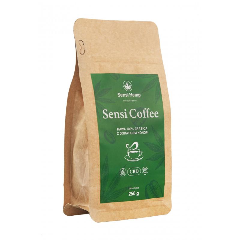 SENSI CAFFEE Kawa Mielona Konopna 250g Sensi Hemp