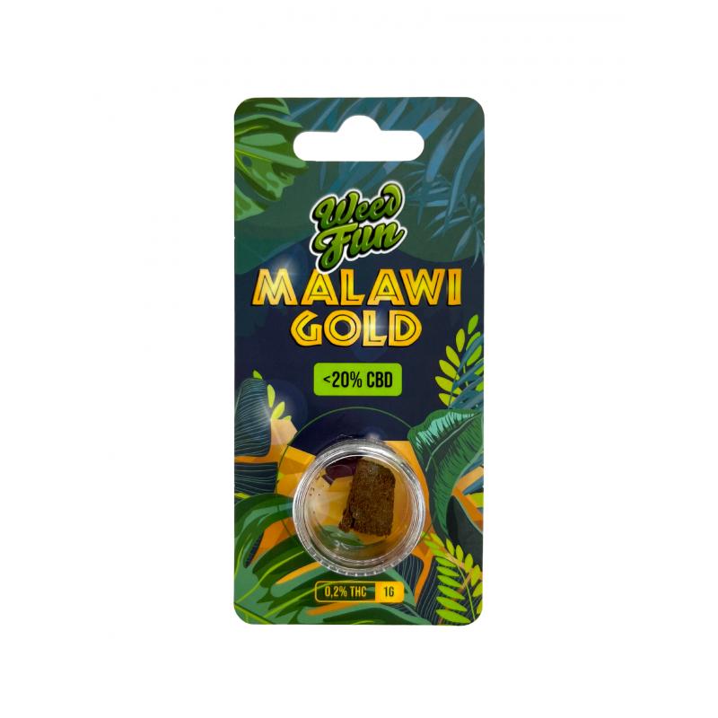 Malawi Gold CBD Premium Hash 1G Sensi Hemp