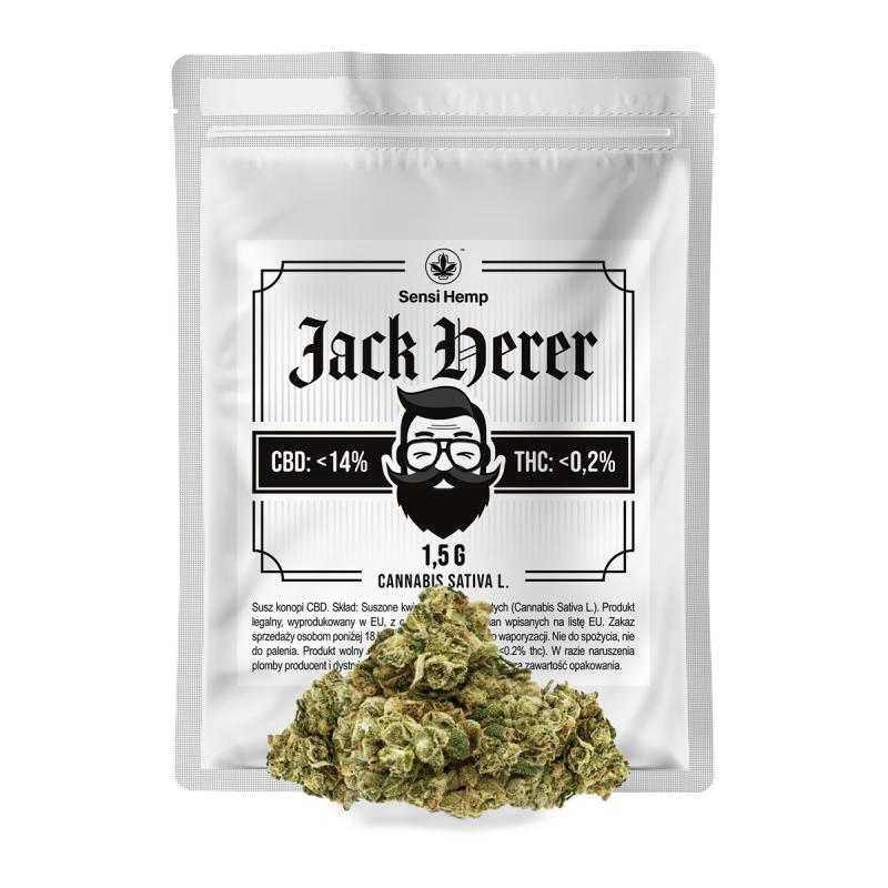 Jack Herer - Susz CBD 14% 1,5G Sensi Hemp