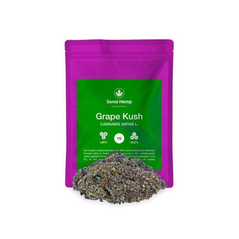 Grape Kush - Susz CBD 20% Sensi Hemp