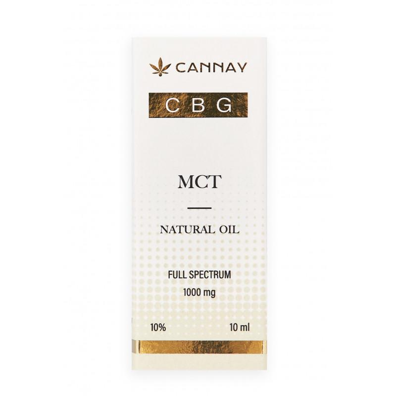Olejek CBG + MCT 10% 10ml CANNAY Cannay